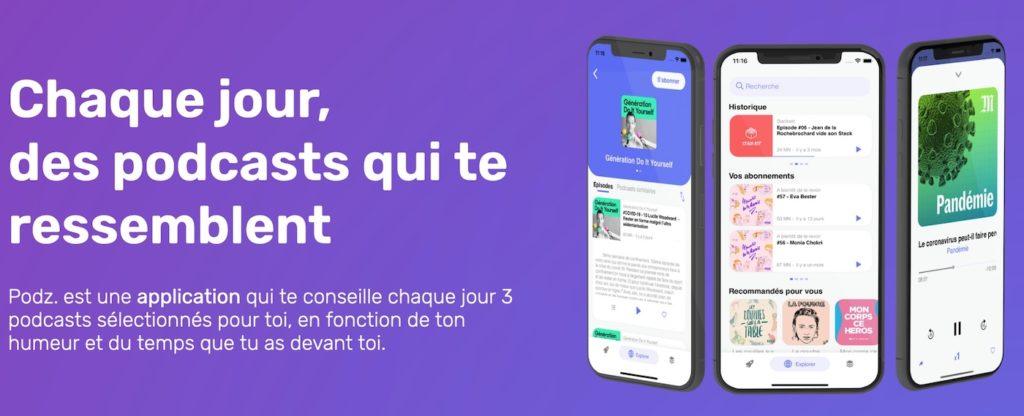 Spotify rachète Podz, une plateforme pour découvrir des podcasts
