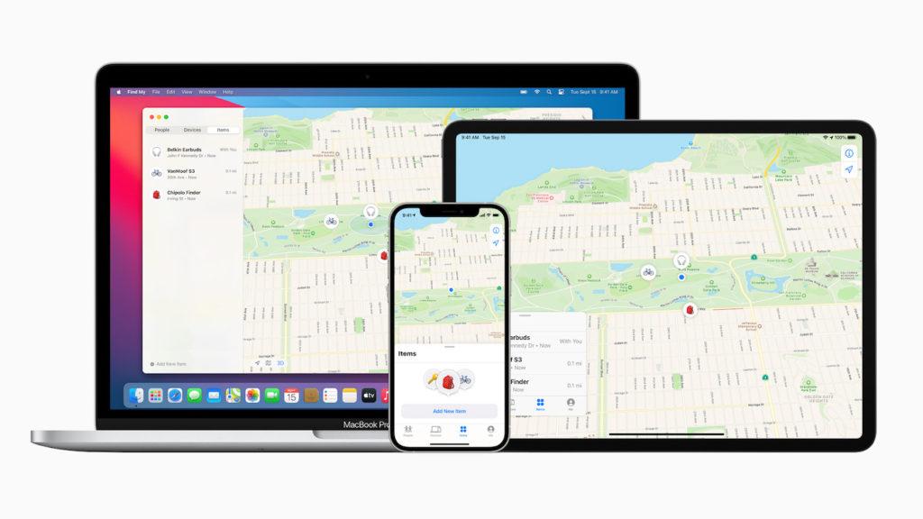 Réseau Apple Localiser