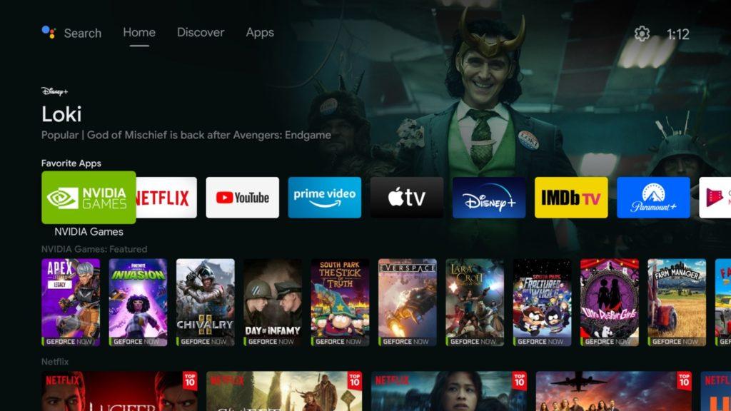 La Nvidia Shield TV change son interface et s'inspire de Google TV