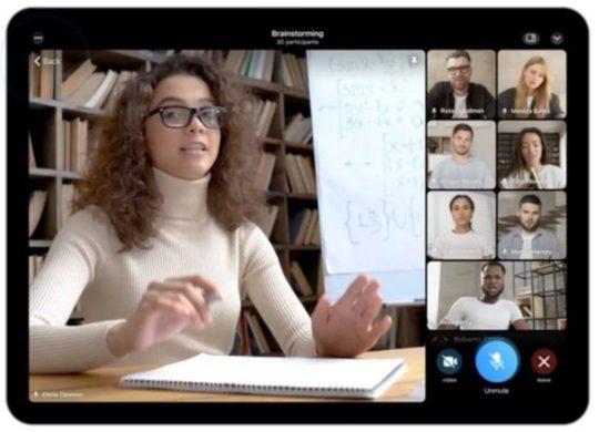 Telegram appels video de groupe