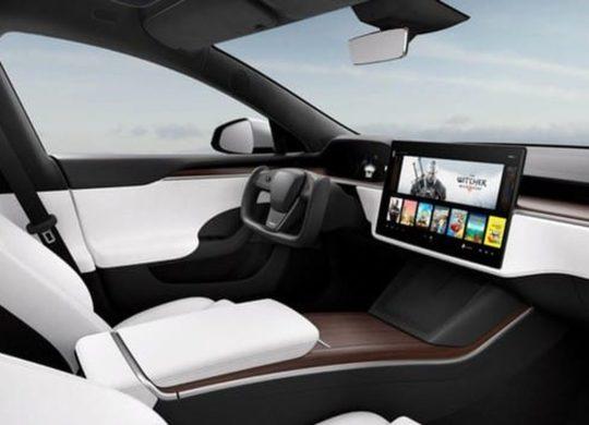 Tesla console de jeu PS5
