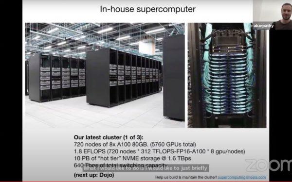 Tesla supercomputer