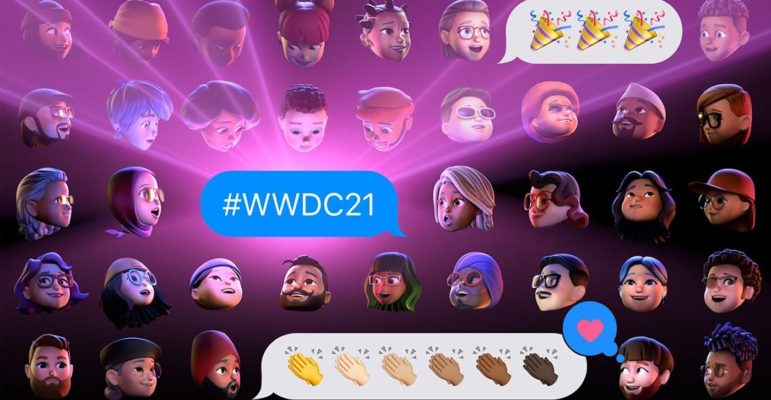 WWDC 2021 Memojis