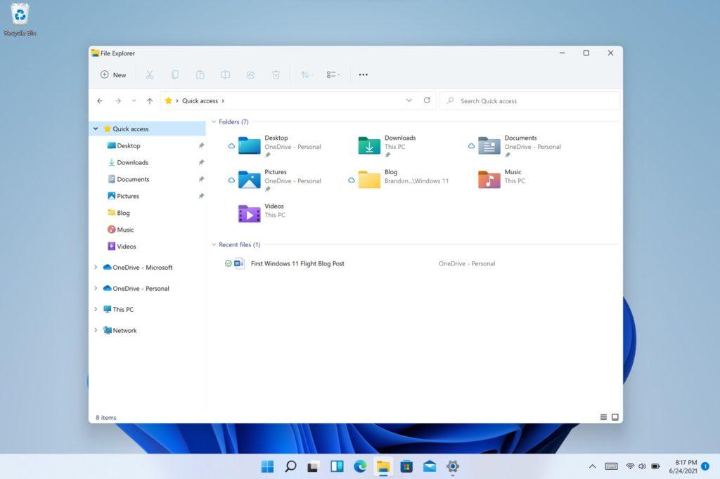 Windows 11 Explorateur de Fichiers