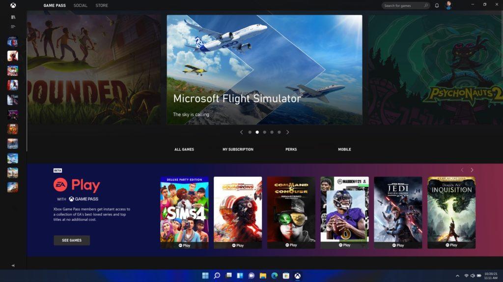 Xbox Game Pass PC Windows
