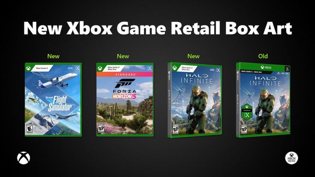 Xbox Series X Jeux Nouvelle Jaquette 2