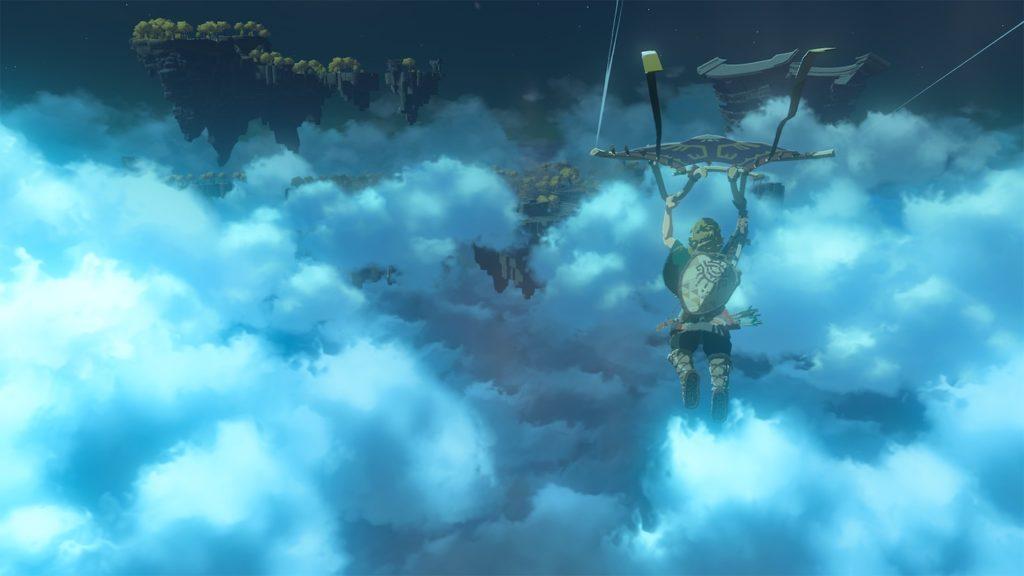 Zelda Breath of the Wild 2 Vol Cieux