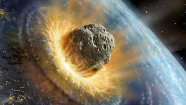 Asteroide impact terre