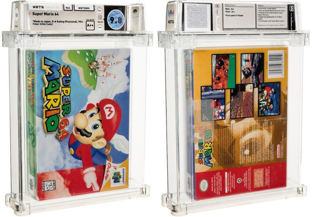 Cartouche Super Mario 64 Encheres