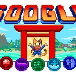 Image article Google lance son plus gros Doodle, et c'est un jeu rétro-pixel pour fêter les J.O de Tokyo