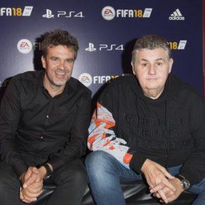 Image article FIFA 22 : Hervé Mathoux commentera seul, Pierre Ménès n'est pas remplacé