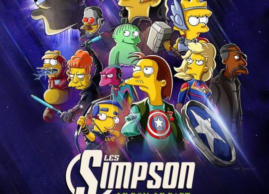 Les Simpson Le bon le Bart et le Loki