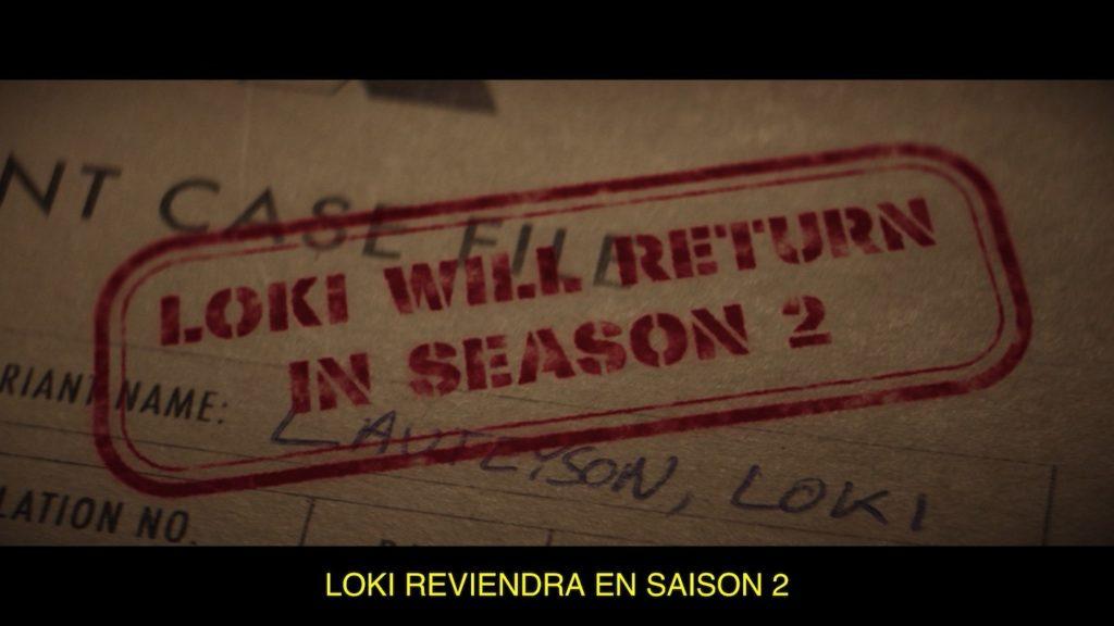 Loki Saison 2 Annonce