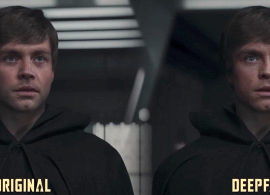 Luke Skywalker Deepfake The Mandalorian Shamook