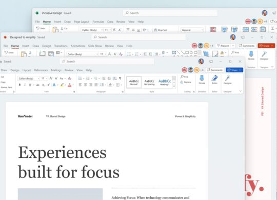 Microsoft Office Nouvelle Interface