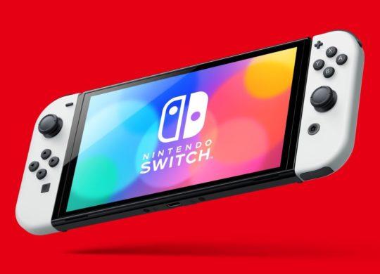Nintendo Switch 2021 OLED Officiel