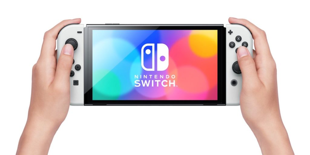 Nintendo Switch 2021 OLED Prise en Main