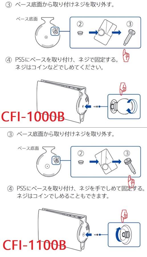 PS5 Digital Edition CFI 1000B Vs CFI 1100B 2