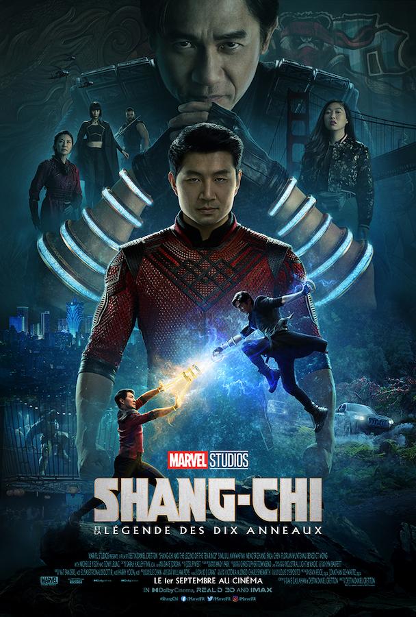 Shang-Chi et la Legende des Dix Anneaux Nouvelle Affiche
