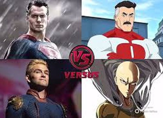 Superman vs Saitama vs Homelander vs Omni-Man
