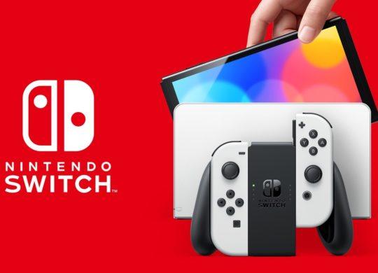 Switch OLED 2021 Dock et Joy-Con