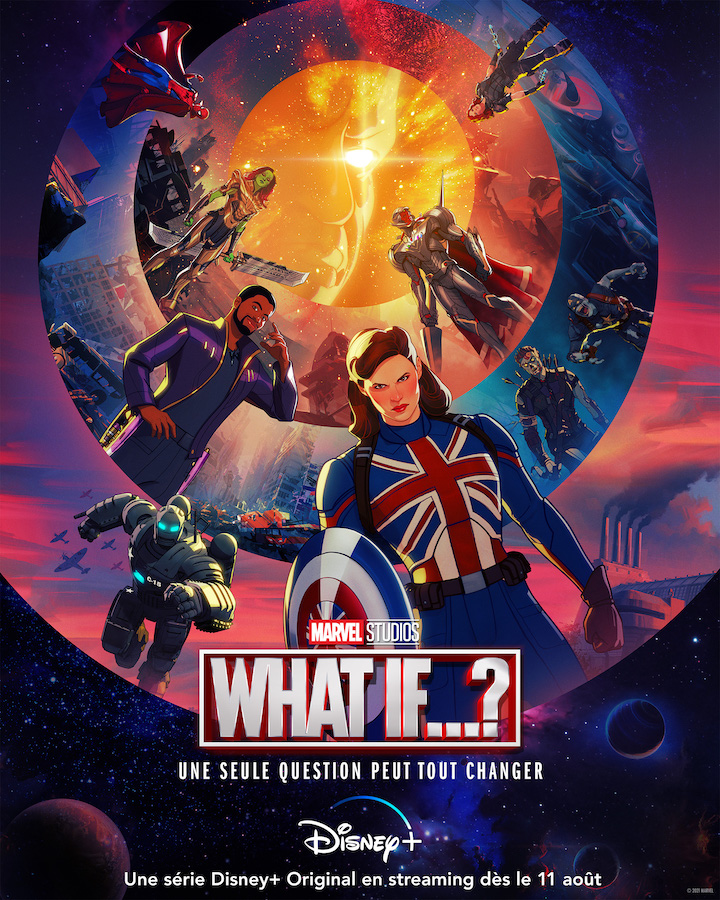 What If Marvel Affiche