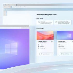 Image article Windows 365 est disponible : le PC dans le cloud par Microsoft