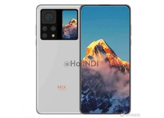 Xiaomi Mi Mix 4 second ecran