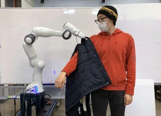robot habillage MIT