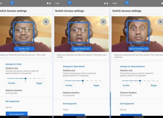 Android 12 Accessibilite Controle Visage