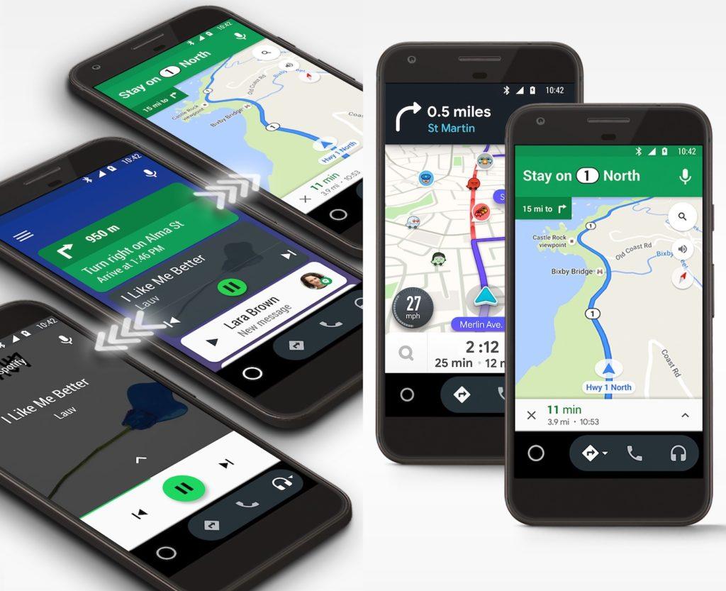 Android 12 va marquer la fin d'Android Auto sur smartphone