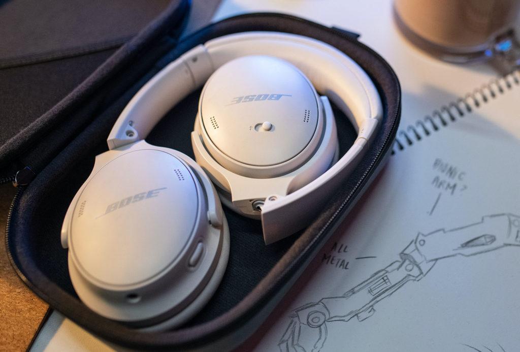 Bose QuietComfort 45 QC45 Blanc Etui