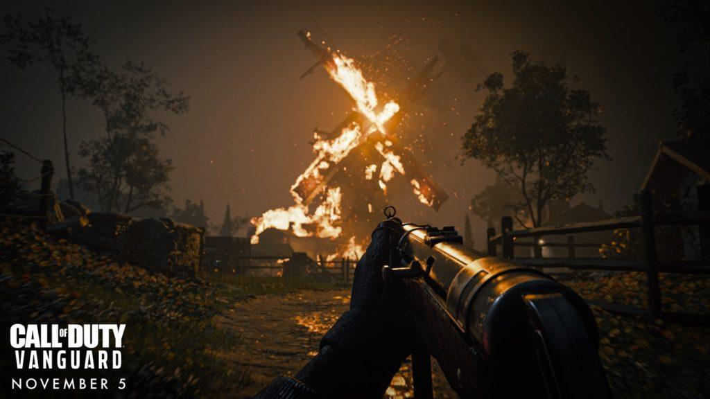 Call of Duty Vanguard Arme Feu