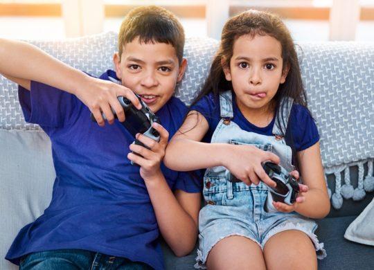 Enfants Jeux Video Manettes