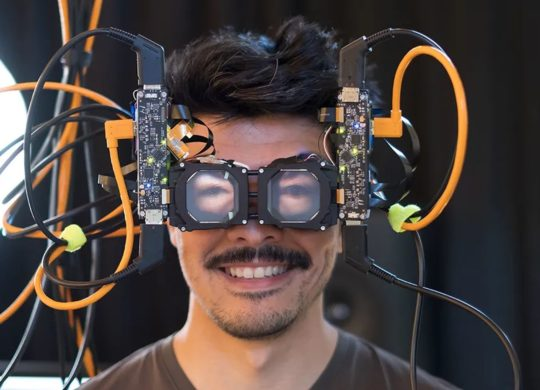 Facebook Casque VR yeux
