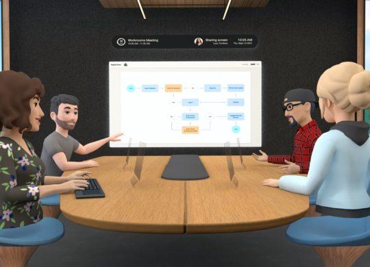 Facebook Horizon Workrooms Realite Virtuelle