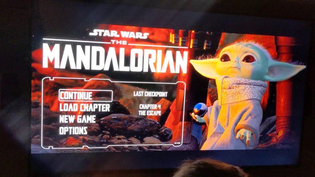 Fuite The Mandalorian Gameplay Jeu Video 2