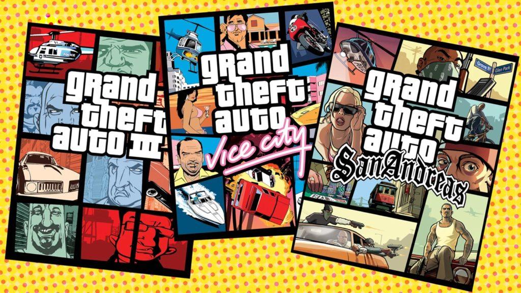 Des remasters de GTA 3, Vice City et San Andreas en préparation