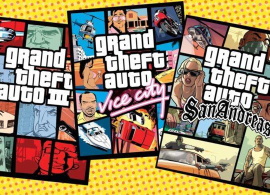 GTA 3 vs Vice City vs San Andreas