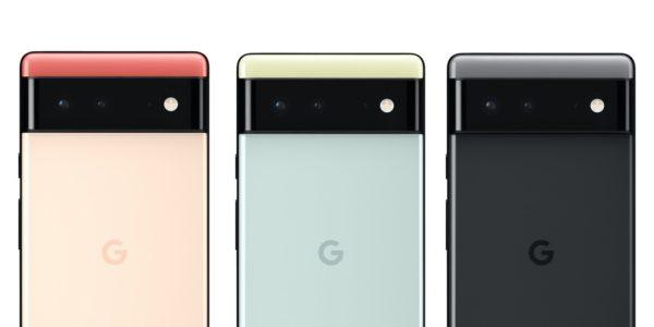 Google Pixel 6 Arriere Officiel 2