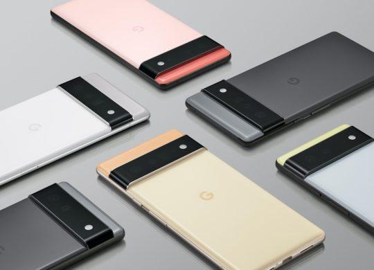Google Pixel 6 Arriere Officiel