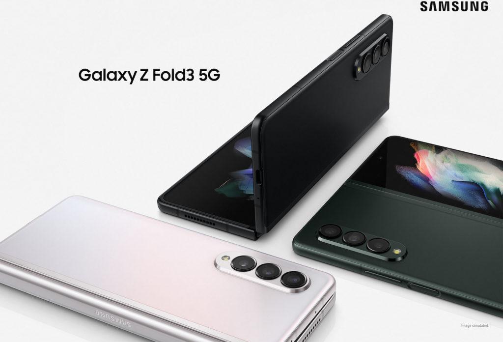 Samsung Galaxy Z Fold 3 Officiel