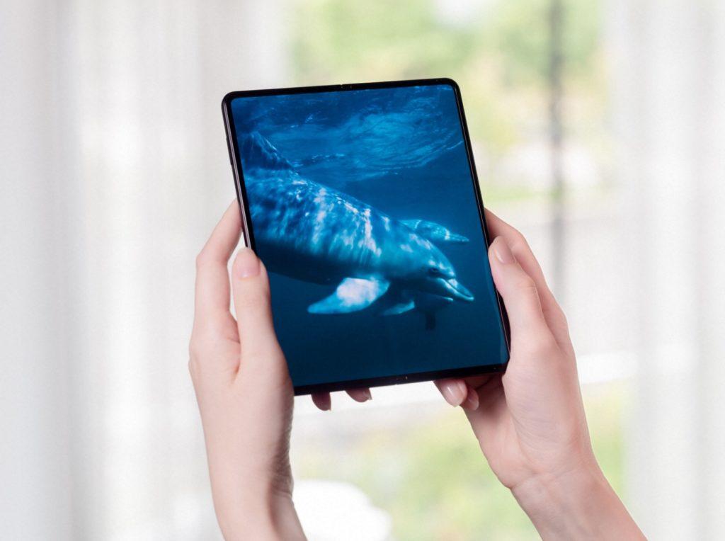Samsung Galaxy Z Fold 3 Officiel Deplie