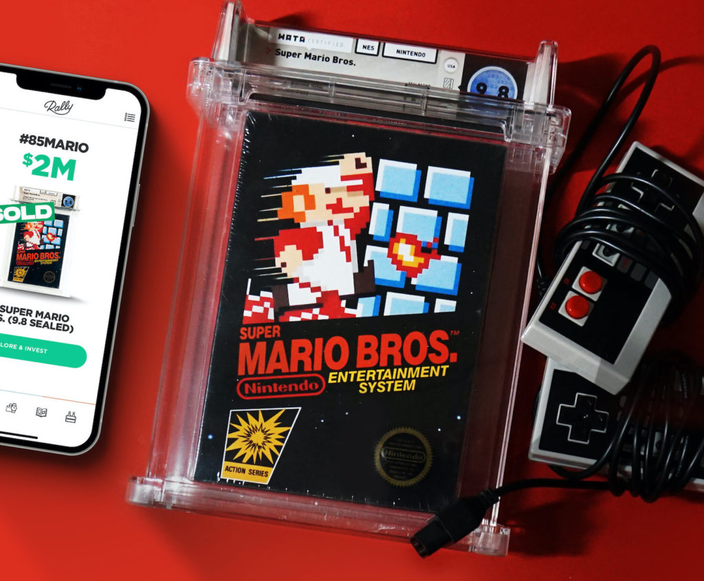 Super Mario Bros Neuf Vente Record 1