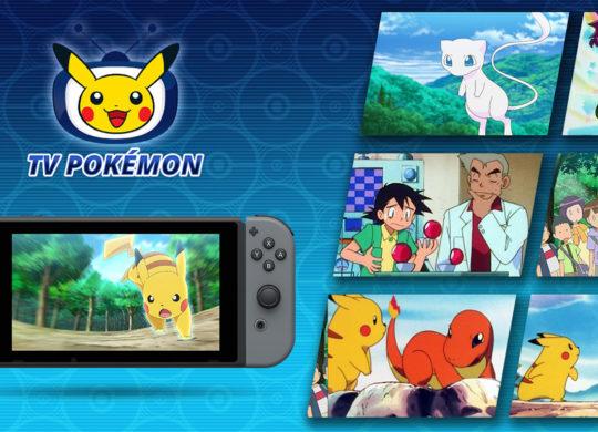 TV Pokémon Switch