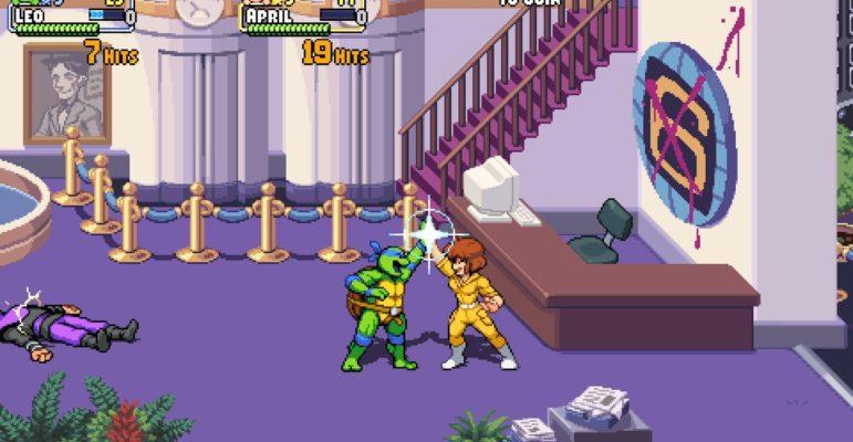 Tortues Ninja jeu 1 Dotemu
