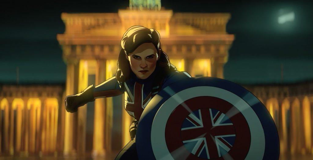 What If Serie Animee Marvel Captain Carter marvel séries animées