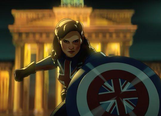 What If Serie Animee Marvel Captain Carter