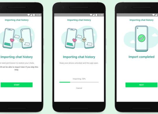 WhatsApp Transfert iOS et Android