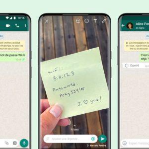 Image article WhatsApp lance «Vue unique» pour voir une fois les photos et vidéos